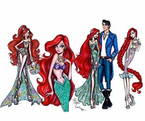 ariel, style, and art image