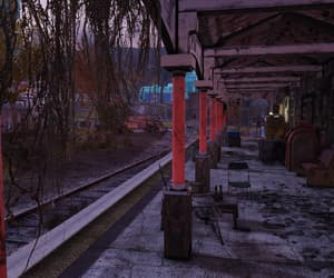 fallout, overgrown, and station image