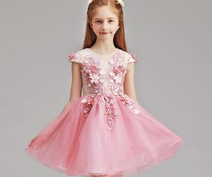 short dress, wedding party dresses, and flower girl dresses image