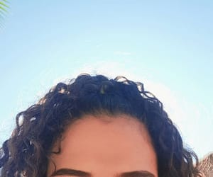 curly, curly hair, and fashion image