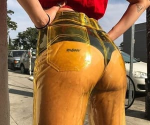booty, cute, and tattoo image