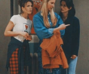 friends, 90s, and rachel green image