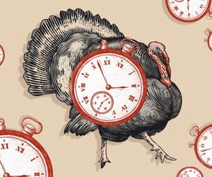 thanksgiving, thanksgiving day, and turkey image