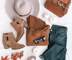 autumn, boots, and style image