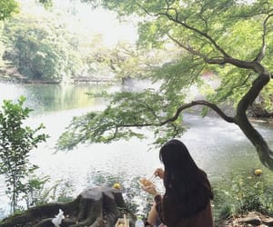 nature, aesthetic, and girl image