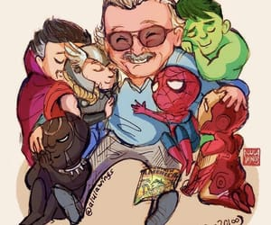lee, Marvel, and stan image