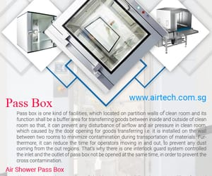 passbox, hospital equipments, and cleanroom wall systems image