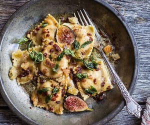 ravioli, food, and pasta image