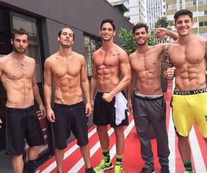 fitness, gym, and hot guys image