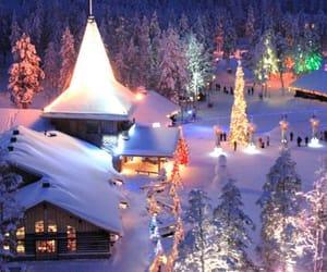 christmas, village, and snow image