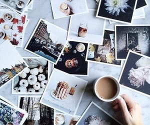 aesthetic, coffee, and photographs image
