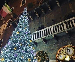 christmas, decorations, and travel image