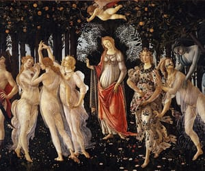 art, spring, and botticelli image
