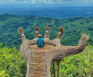 nature, travel, and indonesia image