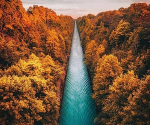 autumn, canada, and wow image