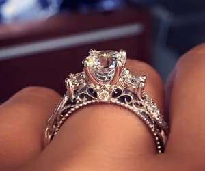 beautiful, ring, and jewelry image