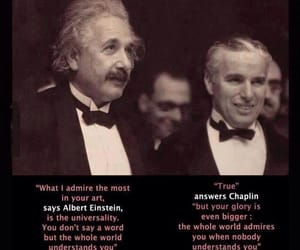 chaplin, quotes, and einstein image