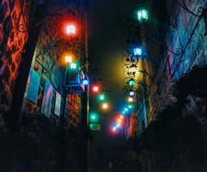 alternative, neon, and night image