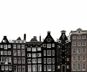 amsterdam, architecture, and black image
