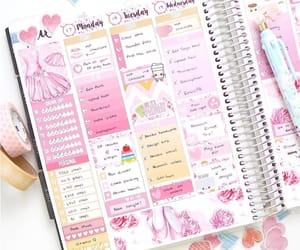 inspiration, notes, and planner image