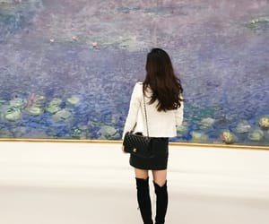 claude monet, water lilies, and forever on vacation image