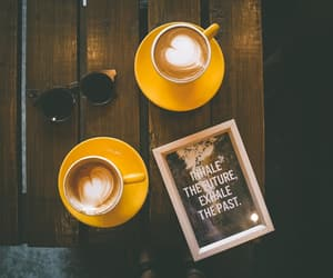 coffee, motivation, and past image