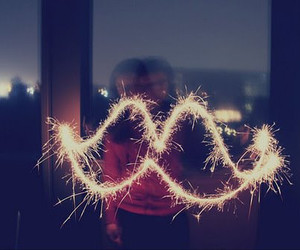 firework and mustache image