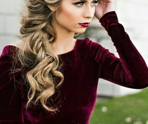 blonde, elegant, and hair image