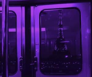 purple, aesthetic, and paris image