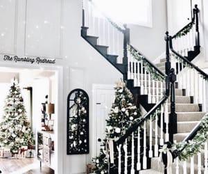 aesthetic, house decor, and christmas tree image