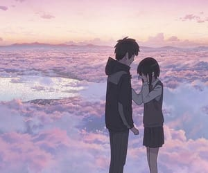 gif, anime, and kimi no na wa image