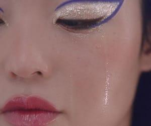 art, gloss, and makeup art image
