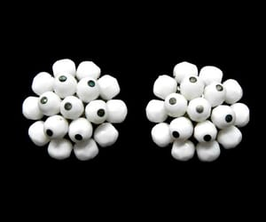 etsy, white, and 1960s jewelry image