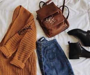 fashion, autumn, and casual image