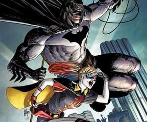 batman, bruce wayne, and harleen quinzel image