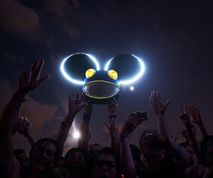 deadmau5, light, and photography image