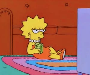 the simpsons, mood, and aesthetic image