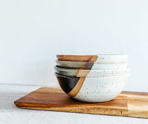 beauty, bowls, and Ceramic image