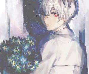 anime, tumblr, and white hair image