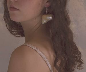 accessories, brown, and brunette image