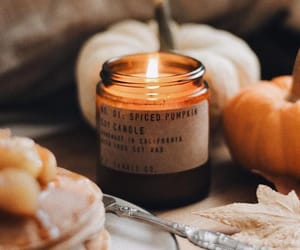 candle, autumn, and cosy image