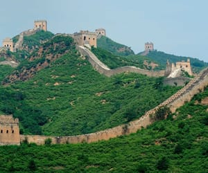 the great wall of china and سور الصين العظيم image