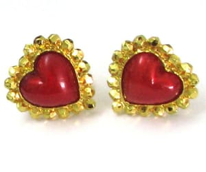 clips, vintage earrings, and women jewelry image