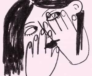 art, cartoon, and draw image