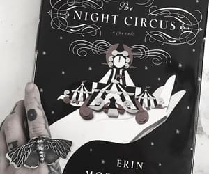 book, circus, and goth image