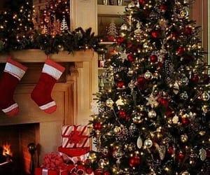 christmas, christmas decoration, and christmas tree image