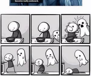 funny, ghost, and meme image