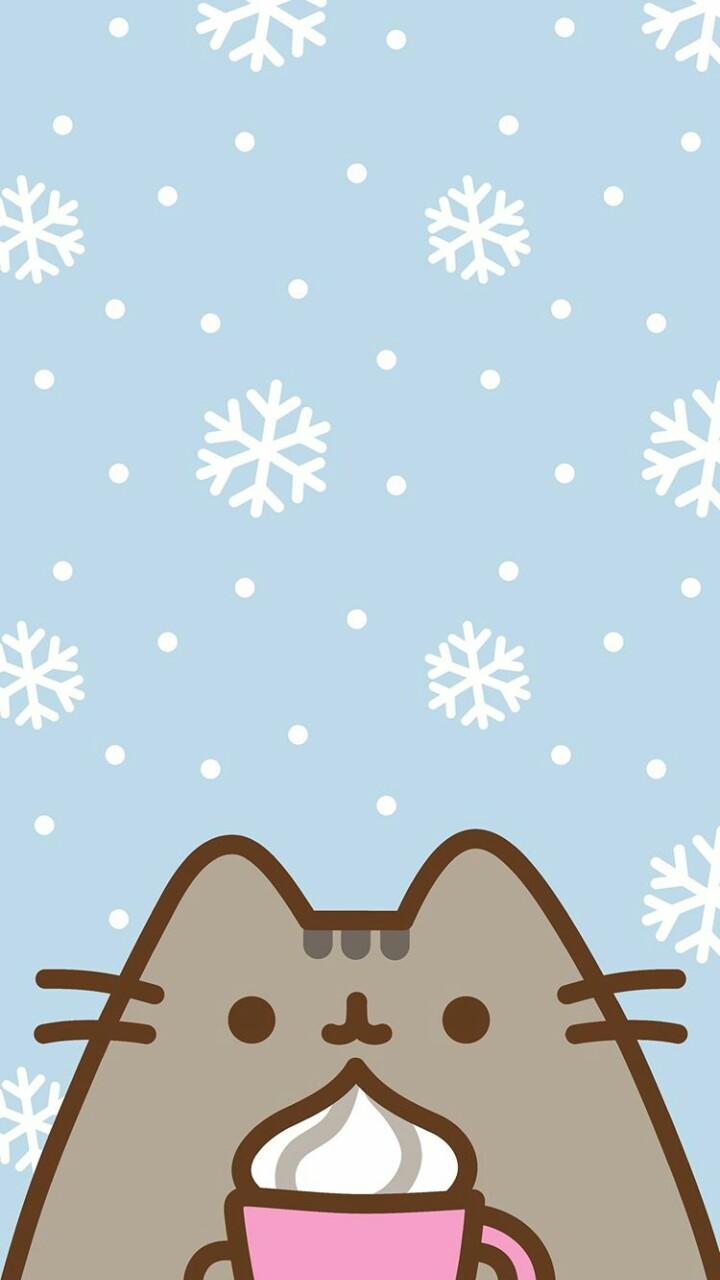 Pusheen Cat Wallpaper Uploaded By Alexandralupan