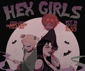 scooby doo and hex girls image