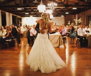 wedding, dance, and couple image